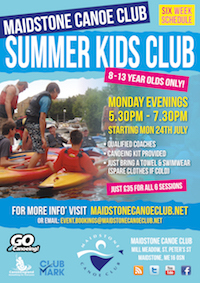 Summer Kids Club Poster200w